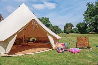 Sandstone Bell Tent with Accessories