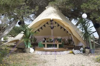 Furnished 5m Star Bell Tent
