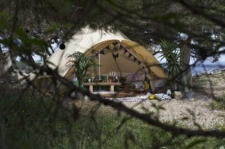 Star Bell Tent by the Beach