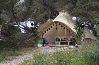 5m Star Bell Tent