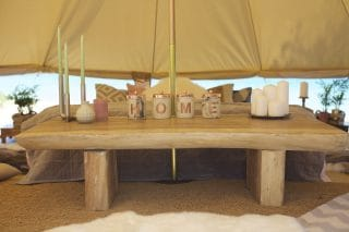 Glamping Accessories for Bell Tent