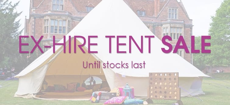 Ex Hire Tent Sale