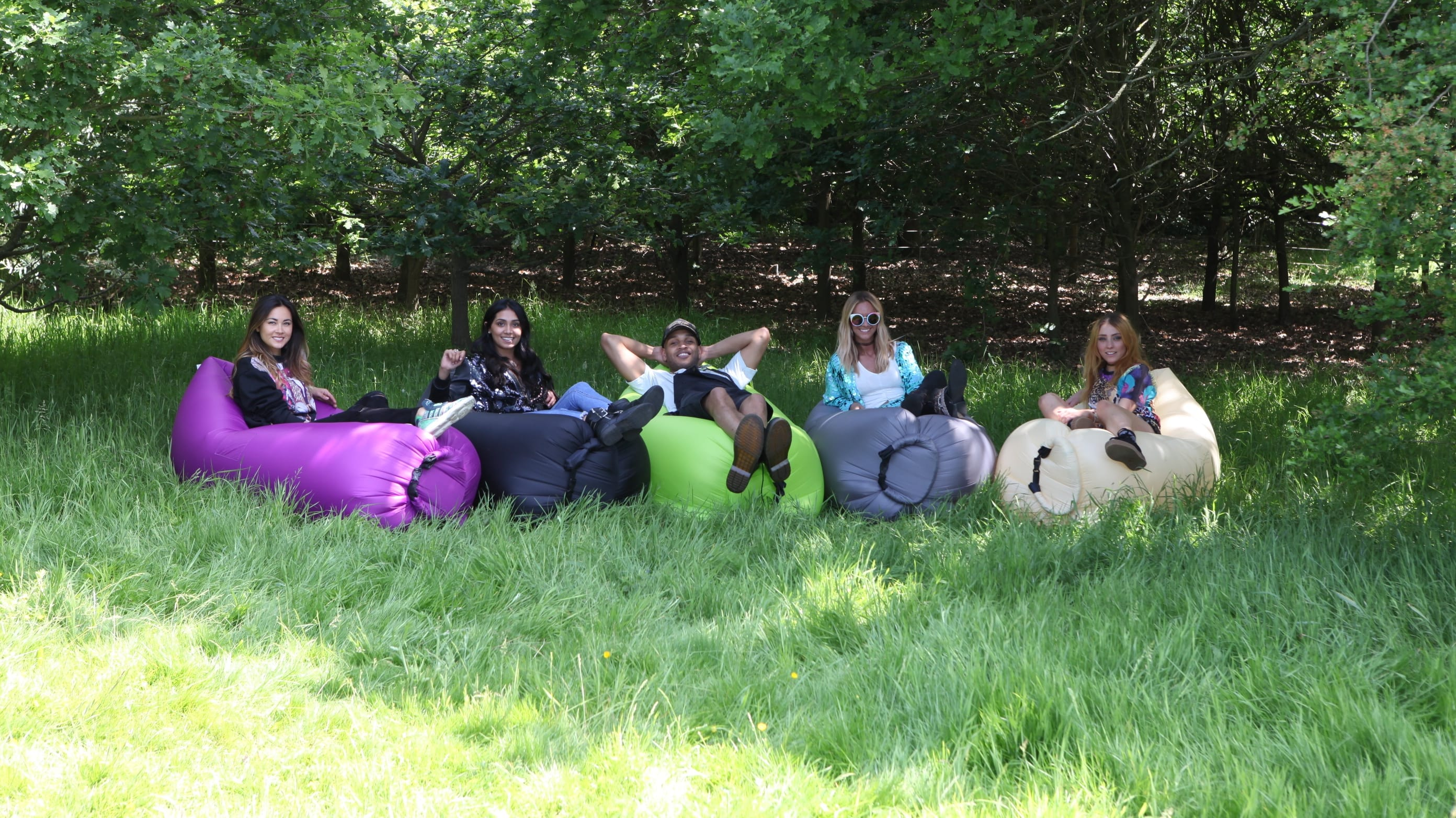 Boutique Camping Lounge bag