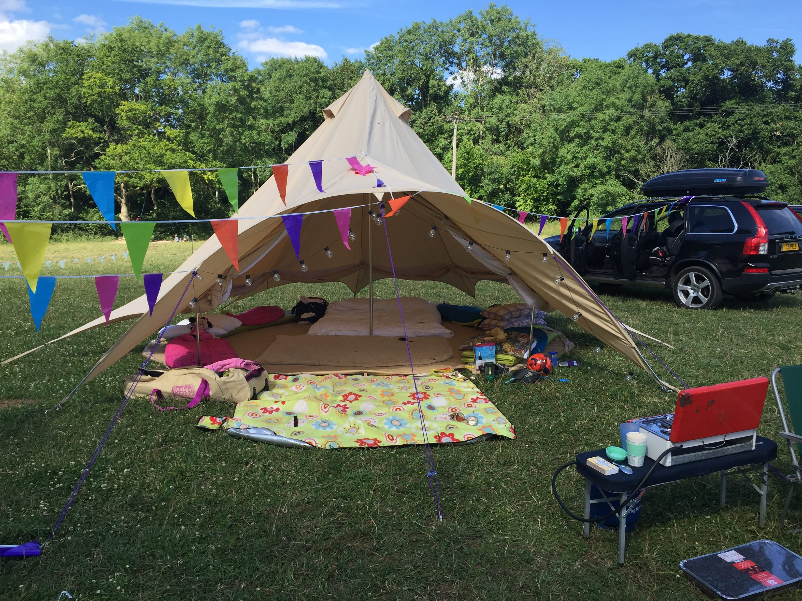 5m Star Bell Tent with a Range of Accessories