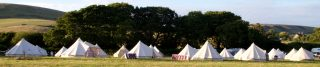 Sandstone Bell Tents
