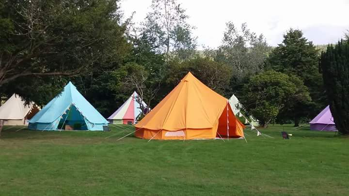 Limelife Bell Tent Party Hire