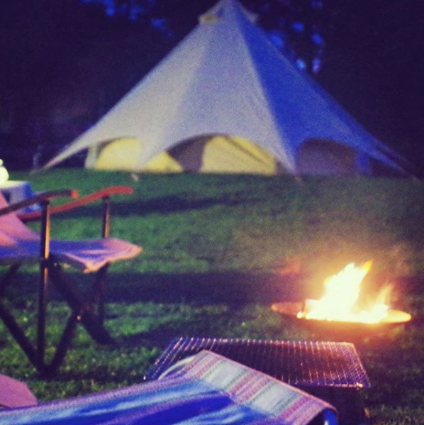 Our 5m Star Bell Tent