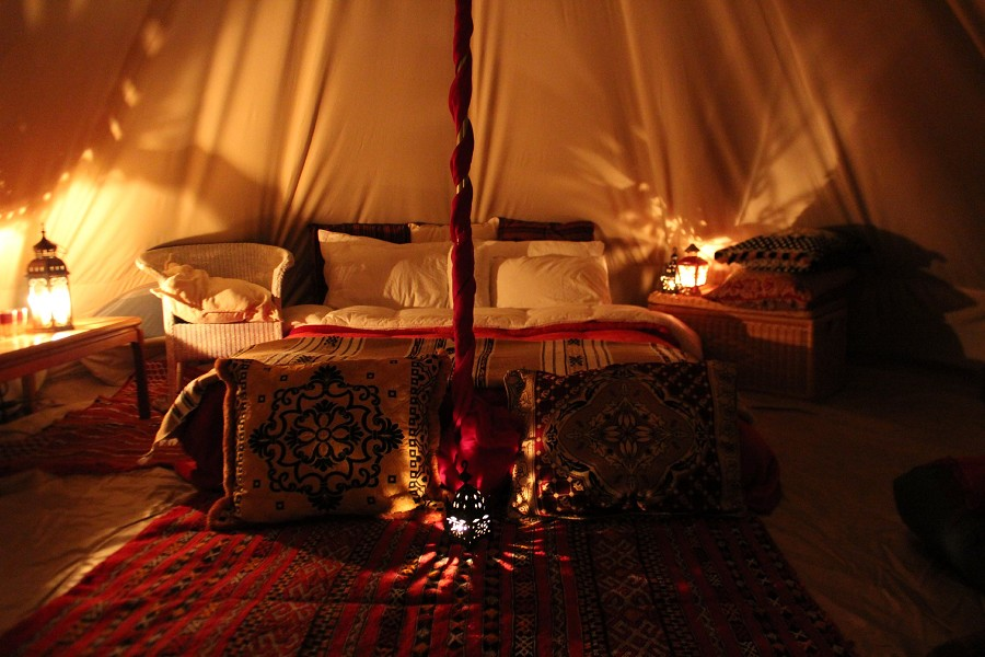 Get Cosy & Get Cosy With A Bell Tent This Valentines Day | Boutique Camping ...