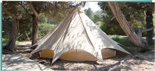 Exclusive to us this 5m Boutique C&ing Star bell tent comes in a classic Sandstone colour. The eye-catching yet comforting bell tent will feel like ... : beautiful tent - memphite.com