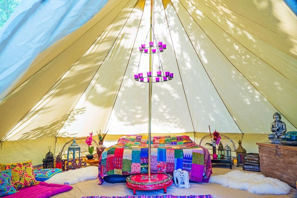 Bell Tent Gallery Boutique Camping