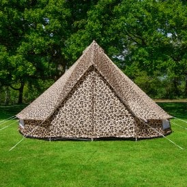 Bell Tent Leopard Print 3m Weekender Polyester