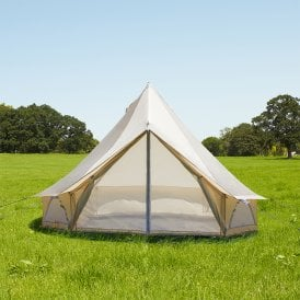 3m Weekender Polyester Bell Tent - Sandstone