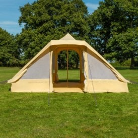 Bell Tent 4.4m Touareg Tent With Double Door