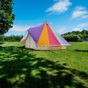 4m Bell Tent Protector Cover - Rainbow