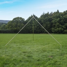 Boutique Camping Tents 4m Bell Tent Tripod Pole