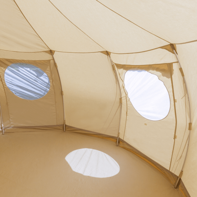 4m Luna Bell tent Wall pole set (Ribs)
