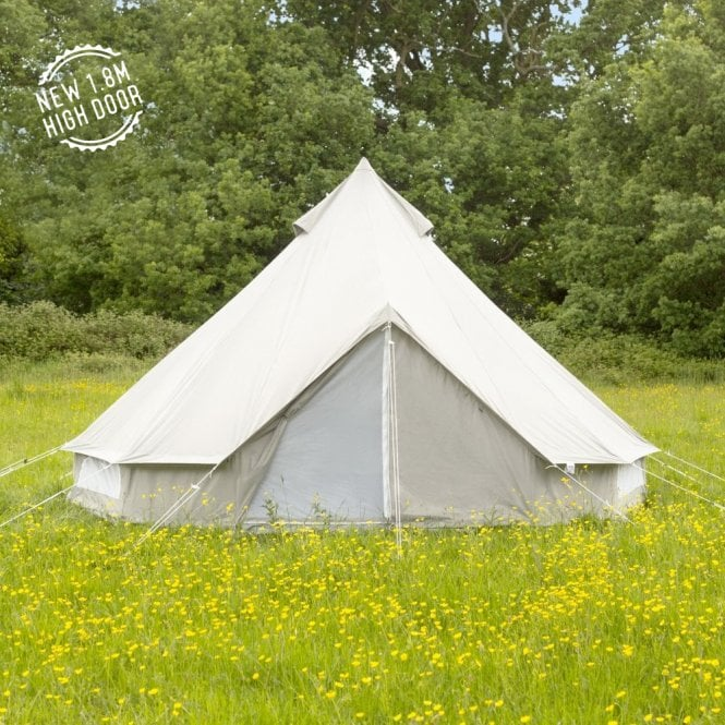 4m Oxford Bell Tent - Grey