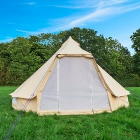 4m Sandstone Wide Door Bell Tent & Bell Tent | UK #1 Luxury Bell Tents | Buy Tents from Boutique Camping