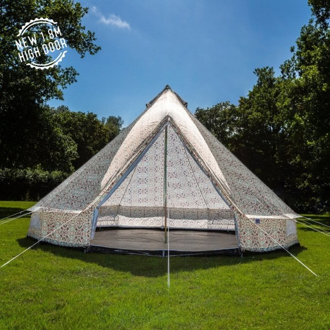 4m Weekender Polyester Bell Tent - Aztec