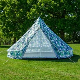 4m Weekender Polyester Bell Tent - Palm Leaf