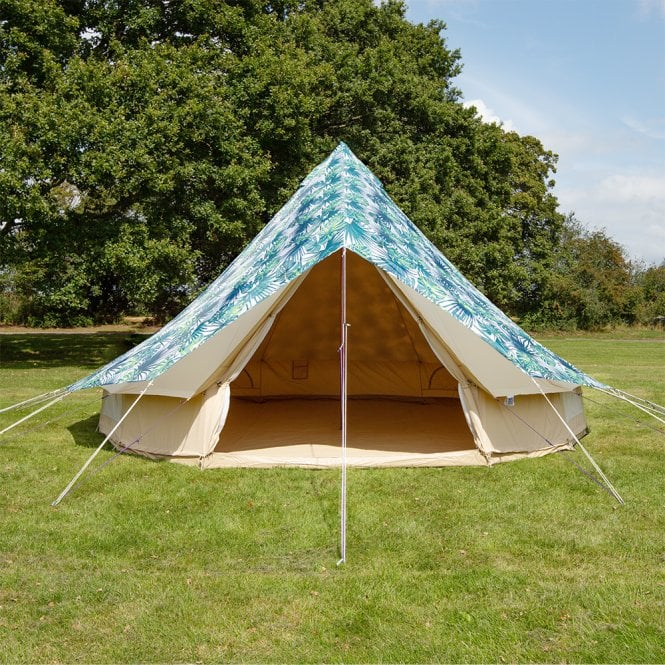 5m Bell Tent Protector Cover - Palm Leaf