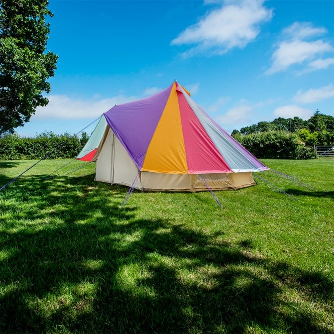 5m Bell Tent Protector Cover - Rainbow