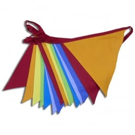 Boutique Camping 5m Cotton Bunting - Carnival