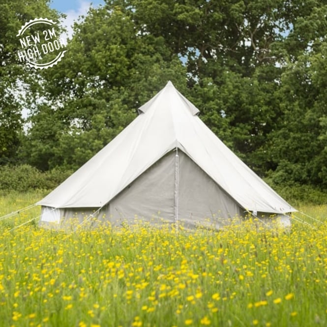 5m Oxford Bell Tent - Grey