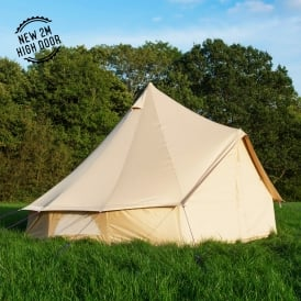 5m Oxford Bell Tent - Sandstone Canvas