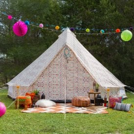 5m Weekender Polyester Bell Tent - Aztec