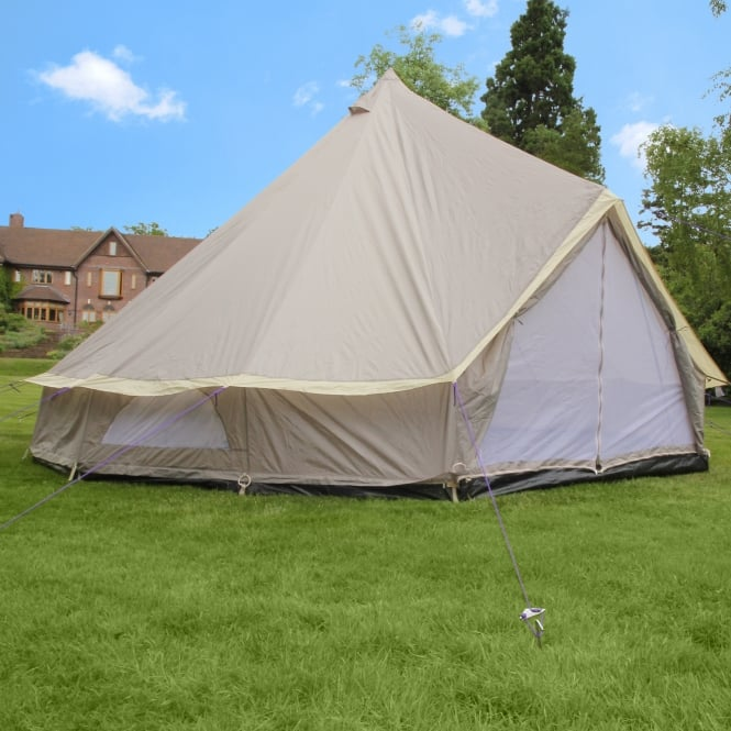 5m Weekender Polyester Bell Tent - Brown