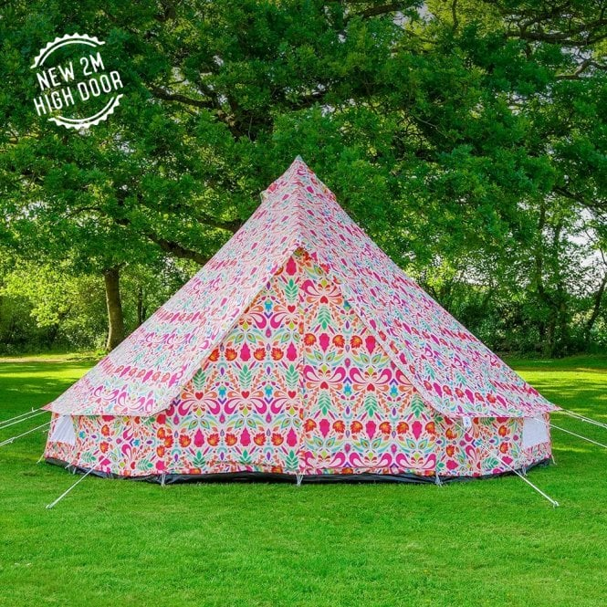 5m Weekender Polyester Bell Tent - L.O.M Collaboration