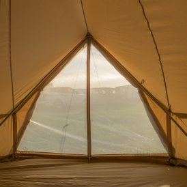 Boutique Camping Tents 6m Bell Tent A-frame
