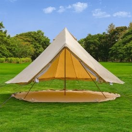 Boutique Camping Tents 6m Bell tent Groundsheet