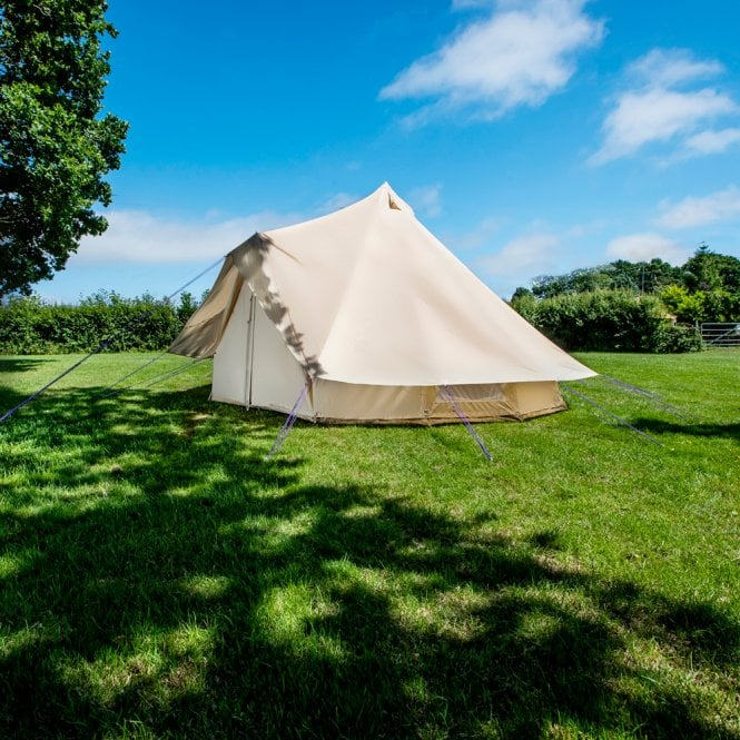 6m Bell tent Protector Cover - Single door - Sandstone