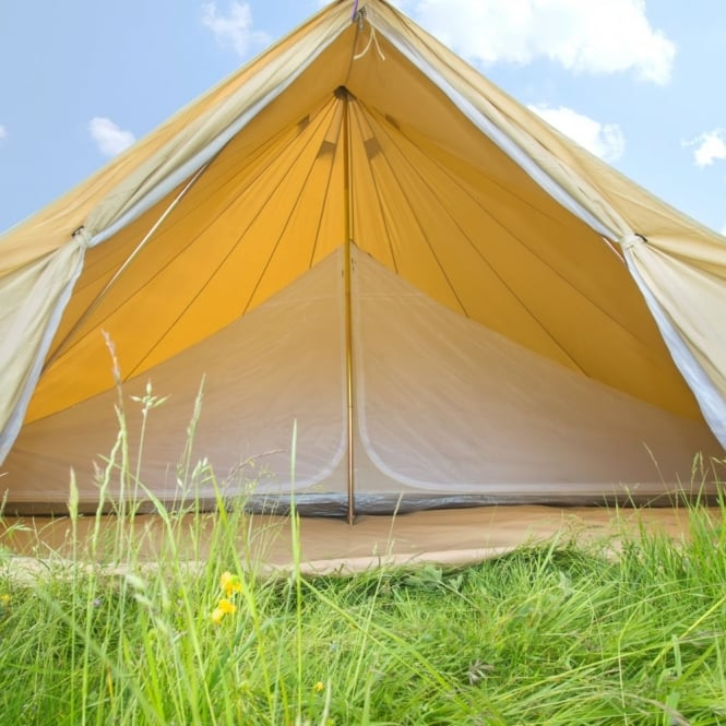 6m Inner Tent for a Bell Tent - Double Compartment