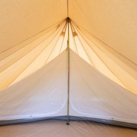 Bell Tent 6m Star Bell Inner Tent - Double Compartment