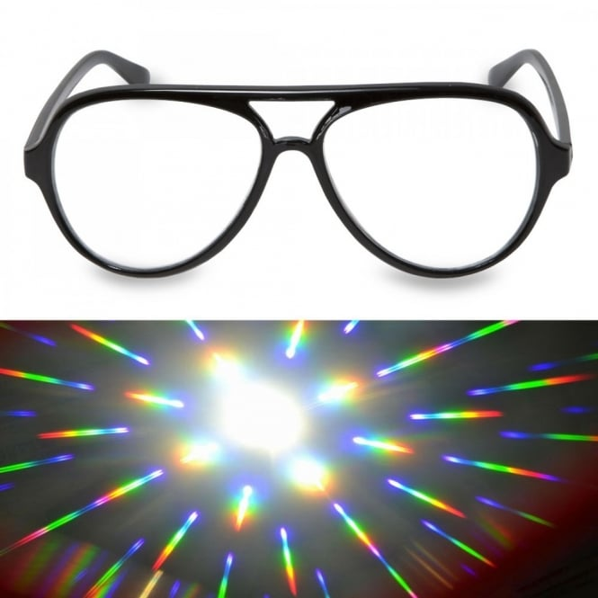 Aviator Glasses - Firework Lens