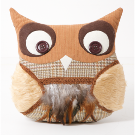 Barnaby Wise Owl Cushion