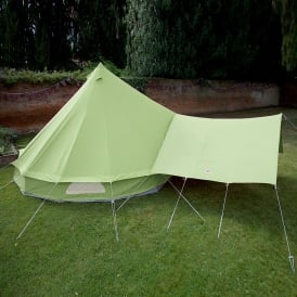 Bell Tent Canopy Awning - Apple Green
