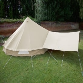 Bell Tent Canopy Awning - Sandstone