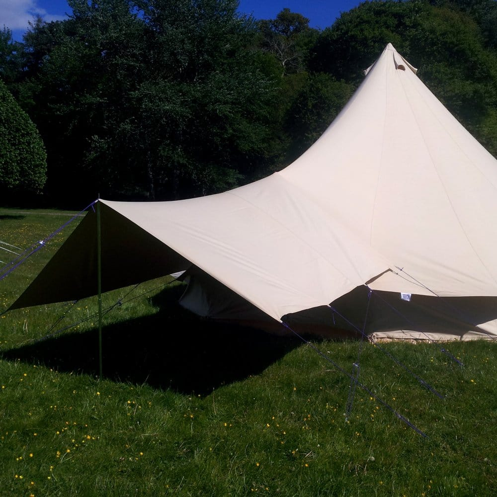 Sandstone Bell Tent Canopy