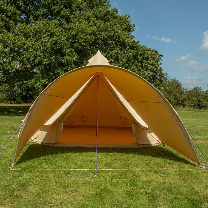 Bell Tent Curved Canopy - Sandstone (2m Depth)