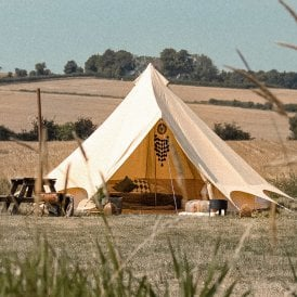 Boutique Camping Bell Tent Plus - Canvas