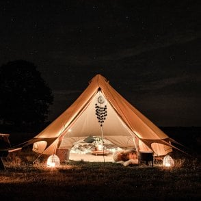 Bell Tent Plus - Fire Retardant Cotton 320gsm