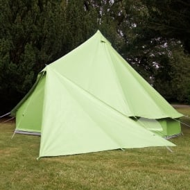 Bell Tent Triangle Tarp - Apple Green