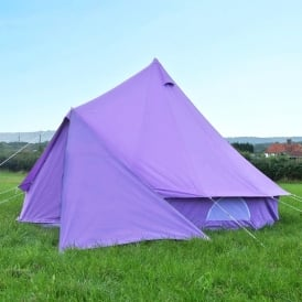 Bell Tent Triangle Tarp - Pastel Lilac