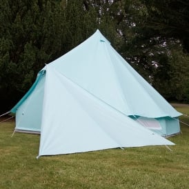 Bell Tent Triangle Tarp - Sky Blue