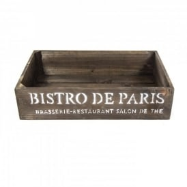 Bistrot de Paris Crate Dark