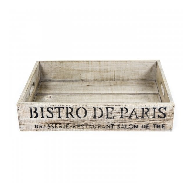 Bistrot de Paris Crate White